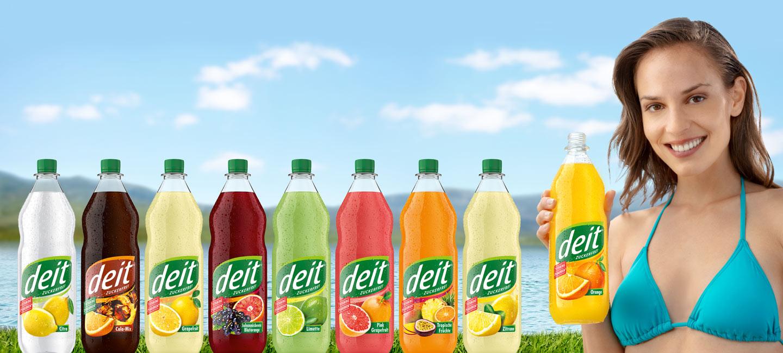 DEIT® - die kalorienarme Limonade ohne Zucker · Home